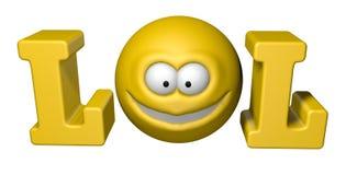 Symbole de Lol Photos libres de droits