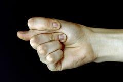 Symbole de main photos libres de droits