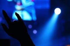 Symbole de main pour l'amour Photo stock
