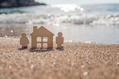 Symbole de maison et de famille Photos libres de droits