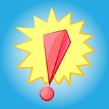 Symbole de marque d'exclamation illustration de vecteur