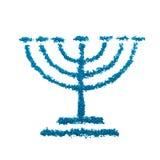 Symbole de Menorah Image libre de droits