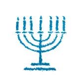 Symbole de Menorah Image stock