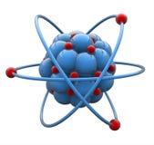 Molécule d'atome Photographie stock