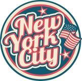 Symbole de New York City illustration de vecteur