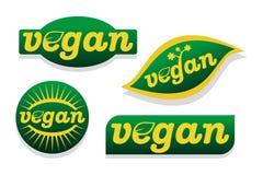 Symbole de nourriture de Vegan Image libre de droits