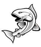 Symbole de pêche Photographie stock