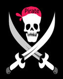 Symbole de pirate Photos libres de droits