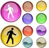 Symbole de promenade Photographie stock libre de droits