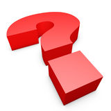 Symbole de question Image stock