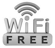 Symbole de réseau sans fil Image stock