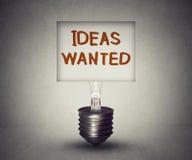 Symbole de recherche de concept voulu par idées et de talent illustration stock