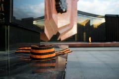 Symbole de ruban de St George de victoire Photos stock
