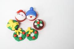 Symbole de salutation de saison de festival de Noël le 25 décembre Image stock