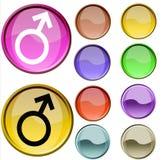 Symbole de sexe Photos stock