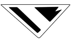 Symbole de Superman S de Batman au delà de l'appel photographie stock libre de droits