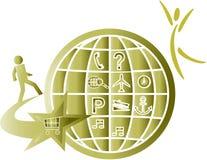 Symbole de système Illustration Libre de Droits