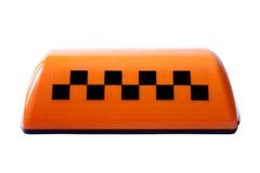 Symbole de taxi Photos libres de droits