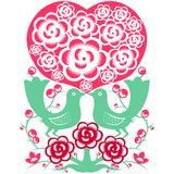 Symbole de Valentine Image stock