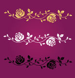 Symbole de vecteur de fleurs Photographie stock libre de droits