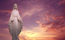 Symbole de Vierge Marie de l'amour et de la gentillesse Photos stock