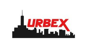 Symbole de ville d'Urbex illustration libre de droits