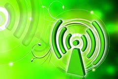 Symbole de WIFI Photo libre de droits