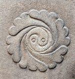 Symbole de yang de Ying de l'équilibre Photo libre de droits