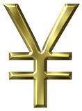 Symbole de Yens Images stock