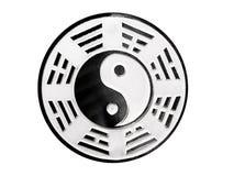 Symbole de Yin yang Photographie stock libre de droits