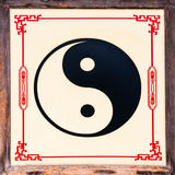 Symbole de Yin Yang Images libres de droits