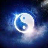 Symbole de Yin Yang photos libres de droits