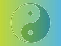 Symbole de Yin Yang Images stock
