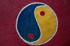 Symbole de Yin Yang Photos stock