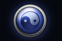 Symbole de Yin yang Photos stock
