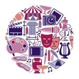 Symbole des arts illustration libre de droits