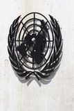 Symbole des Nations Unies Photo libre de droits
