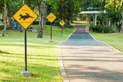 Symbole dla jeździć na rowerze w parku obrazy stock