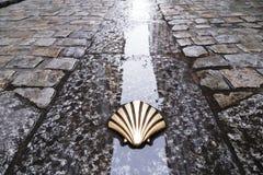 Symbole du camino de Santiago Photo libre de droits