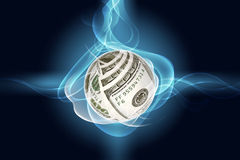 Symbole du dollar Photo stock