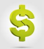 Symbole du dollar Photos libres de droits