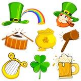 Symbole du jour de Patrick de saint Image stock