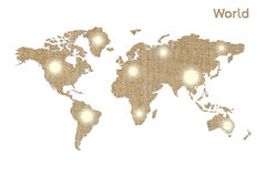 Symbole du monde Image stock
