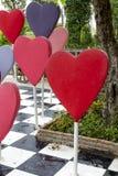 Symbole en forme de coeur Photographie stock