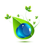 symbole environnemental Photos stock