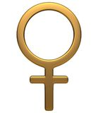 Symbole féminin Photographie stock