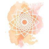 Symbole géométrique illustration stock