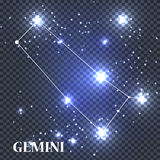 Symbole Gemini Zodiac Sign Illustration de vecteur Photo stock