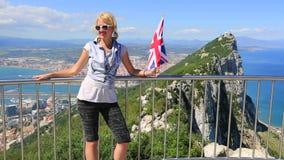 Symbole Gibraltar zdjęcie wideo