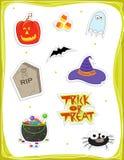 symbole halloween Obraz Stock